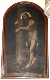 Jezus przy kolumnie. Obraz