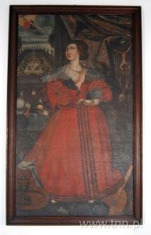 Portret Katarzyny z Kretkowskich Ligęziny (s. Teresy od Jezusa i Maryi) fundatorki klasztoru