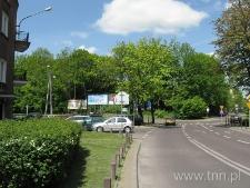 Skrzyżowanie ulic Leszczyńskiego i Czechowskiej