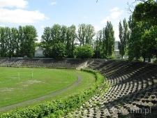Stadiom KS Lublinianka przy ulicy Leszczyńskiego w Lublinie