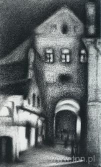 Brama Grodzka w Lublinie, rysunek