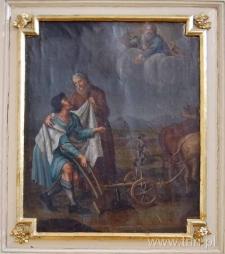 Powołanie Elizeusza na proroka. Obraz
