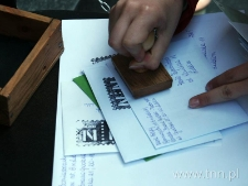 Stemplowanie listów, f.2