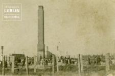 Obóz koncentracyjny na Majdanku - widok na pozostałości krematorium