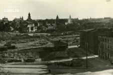 Widok ze Wzgórza Czwartek na Plac Zamkowy i Stare Miasto