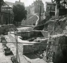 Odbudowa kamienicy w latach 1952-1954