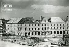 Budowa Placu Zamkowego i budynków mieszkalnych w południowo - zachodniej pierzei