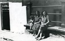 Kobiety na ulicy Zamkowej w Lublinie