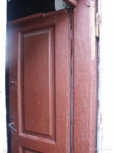 Mezuzah on Mrs. Kazanecka's door