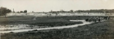 Widok na teren przyszłej plaży nad rzeką Bystrzycą w Lublinie