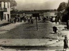 Plac Krawiecki w końcowej fazie regulacji