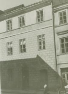 Kamienice renesansowe przy ulicy Grodzkiej 16 po odnowieniu w roku 1939