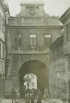 Brama Grodzka - stan z końca XIX wieku