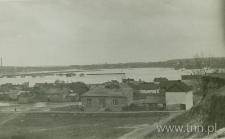 Panorama zalewu Bystrzycy w górę od ulicy Wapiennej