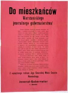 Akt 5 listopada 1916 roku