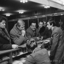 Delegaci na VI Zjazd Partii w Hotelu Unia w Lublinie