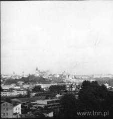Panorama Lublina z wieży kościoła na Bronowicach