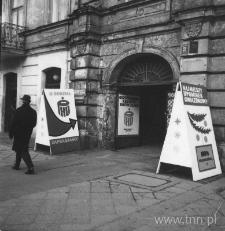 Przekazanie do eksploatacji II Oddziału PKO przy ulicy Krakowskie Przedmieście 39