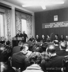Meldunek o wykonaniu na 14 dni przed terminem planu rocznego przez załogę lubelskiej FSC