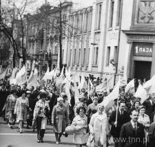 Manifestacja pierwszomajowa w Lublinie