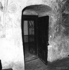 Freski w labiryncie na Starym Mieście