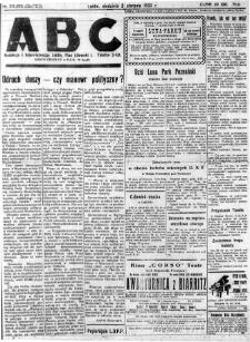 """Strona z gazety """"ABC : pismo codzienne : informuje wszystkich o wszystkiem"""", R. 5, nr 211 (213)"""