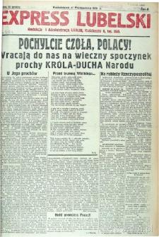 """Strona z gazety """"Express Lubelski"""", R. 2"""