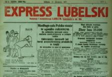 """Strona z gazety """"Express Lubelski"""", R. 1, nr 8"""