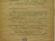 """Strona z czasopisma """"Młodzież : pismo lubelskiej młodzieży szkolnej"""""""