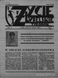 Życie Lubelskie - Tygodnik, R. 2 (1936), nr 7
