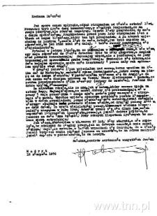 List J. Łobodowskiego z 1976 roku