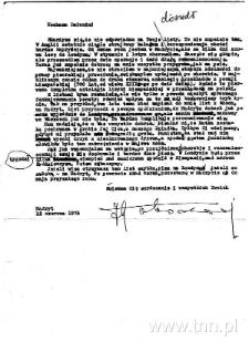 List J. Łobodowskiego do siostry Władysławy