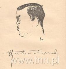 Karykatura J. Łobodowskiego