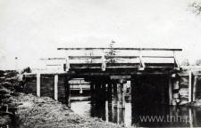 Most drewniany w Turobinie