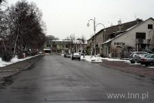 Zabudowa przyrynkowa w Józefowie Biłgorajskim