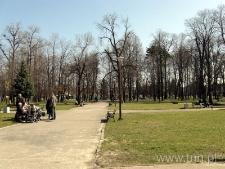 Park miejski w Janowie Lubelskim
