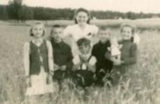 Klara Rieger rescued by Bazyli Chmielewski, 1945-1946