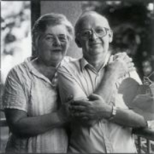 Edward Cyganiewicz with wife
