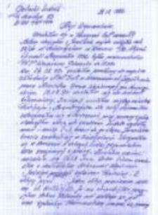 An account of Ludwik Golecki