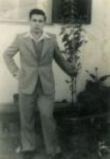 Bencjon (Beniek) Drutin, April 26, 1954.