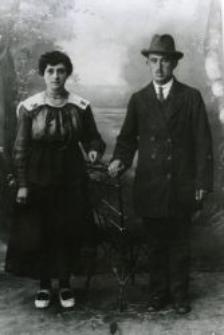 Berek Lipszyc z żoną
