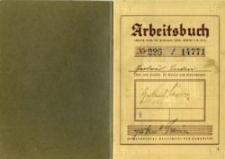 Gertruda Lewin's arbeitsbuch