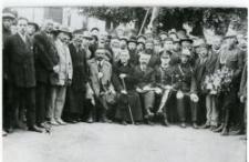 Przedstawiciele elity z Piask. Piaski przed Gminą, pierwsza połowa lat 30-tych XX w.