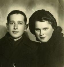 Stanisław Motylewski and Marianna Jarosz, Piaski, May 28, 1942