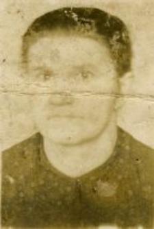Tekla Dudziak, the mother of Wanda Michalewska and Władysława Słotwińska (1939)