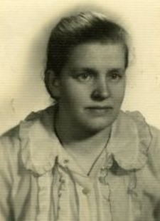 Wanda Michalewska in her youth