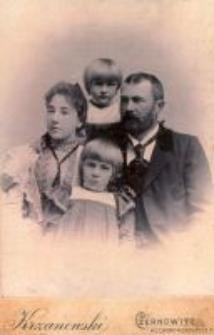 Grandmother and grandfather of Danuta Mikulska