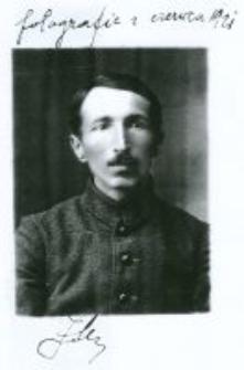 Jan Mikulski. Ojciec Danuty Mikulskiej-Renk, czerwiec 1921.