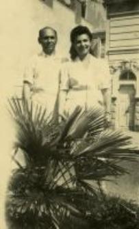 Hela and Szol Fersztman, Paris, March 15, 1950