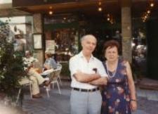 Szlomo Goldiner z żoną Maszą (z domu Fersztman) uratowaną przez rodzinę Ostrowskich